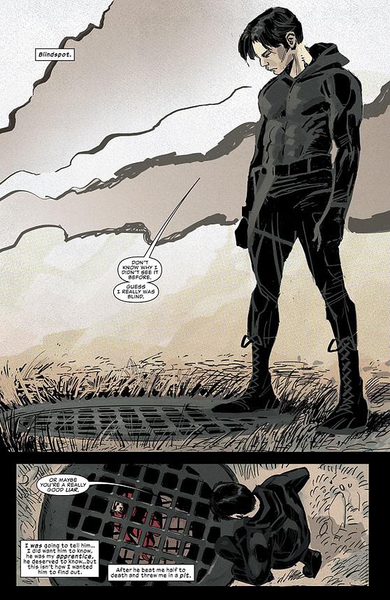 Daredevil #32 art by Ron Garney and Matt Milla