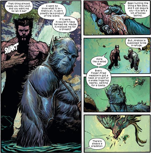 Something is Rotten in the State of Krakoa in New Mutants #1 [Spoilers]