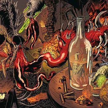 Vinegar Teeth #4 cover by Troy Nixey