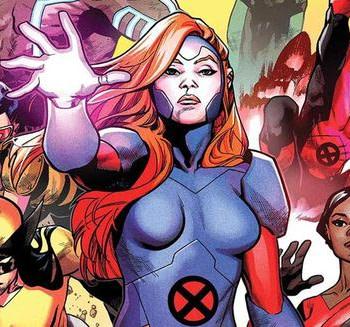 X-Men Red #1 variant cover by Mahmud Asrar and Ive Svorcina
