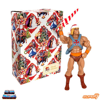 Super7 Masters of the Universe Club Grayskull Holiday He-Man 1