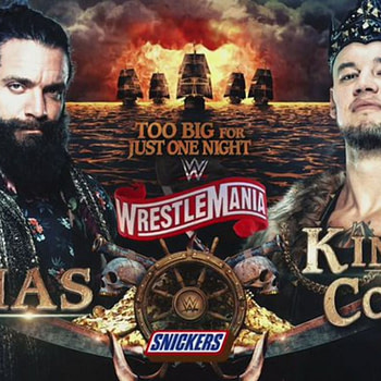 WrestleMania 36 Corbin Vs Elias