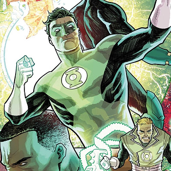 Hal Jordan and the Green Lantern Corps #34 cover by Francis Manapul