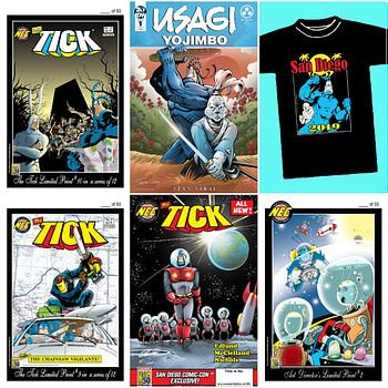 New England Comics Has Plenty of Tick Exclusives for San Diego Comic-Con