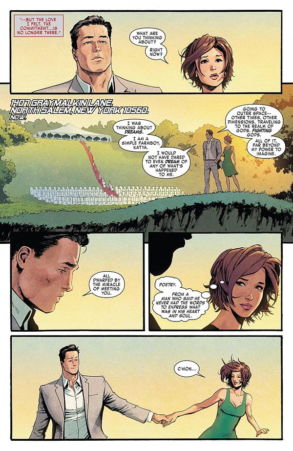 X-Men: Go;d #30 art by David Marquez and Matthew Wilson