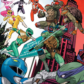 Mighty Morphin Power Rangers/Teenage Mutant Ninja Turtles 2 [Preview]