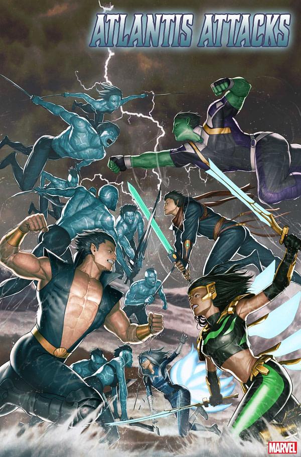 Atlantis Attacks... Again at Marvel in 2020 from Greg Pak and Ario Anindito