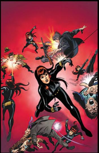 Peter David to Write Black Widow Movie Prequel?