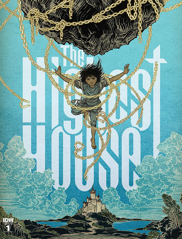 Highest House #1 cover by Yuko Shimizu
