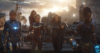 "New Behind-the-Scenes Featurette for the A-Force Scene in ""Avengers: Endgame"""