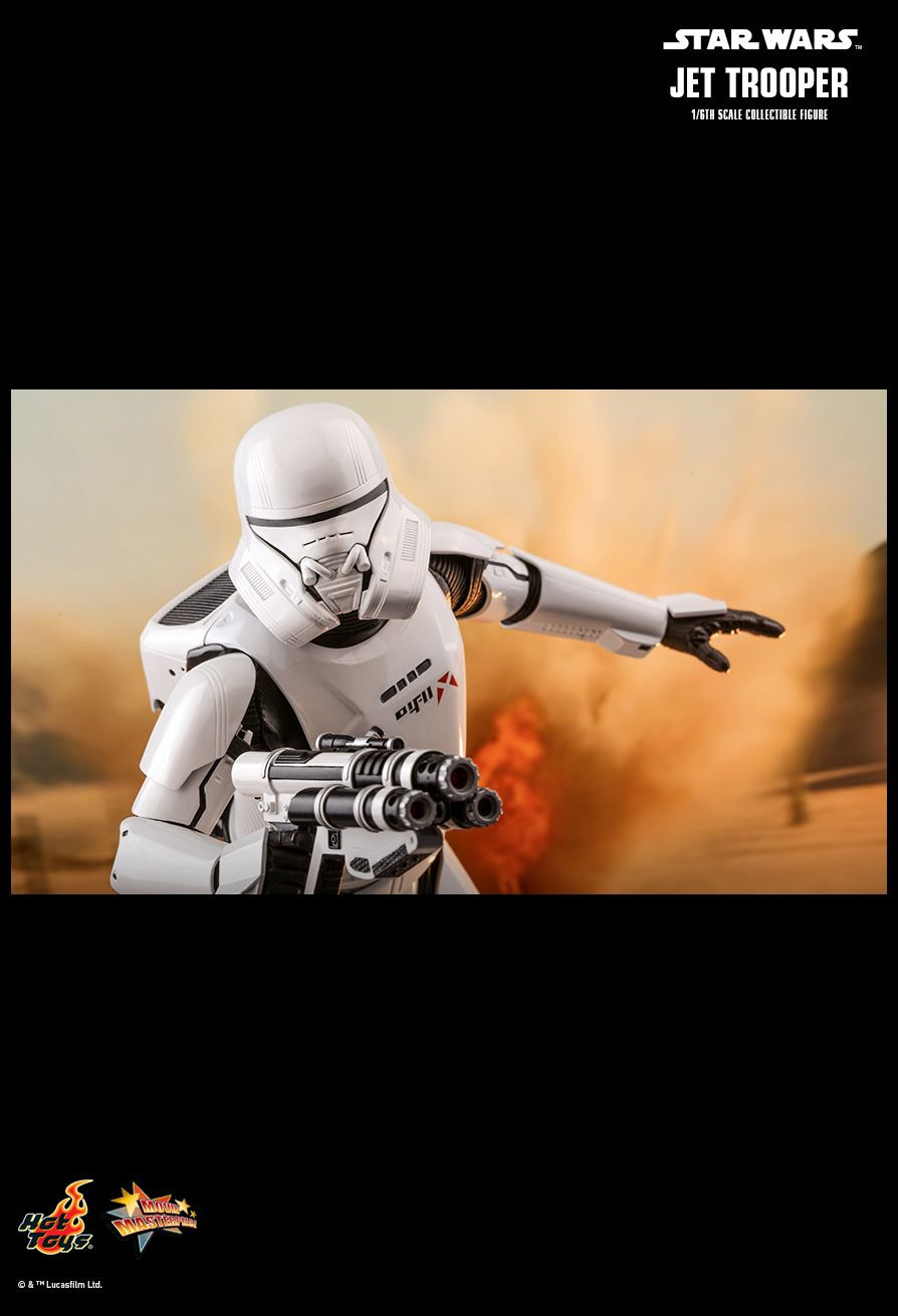 Star Wars Jet Trooper Takes to the Skies with New Hot Toys Figure