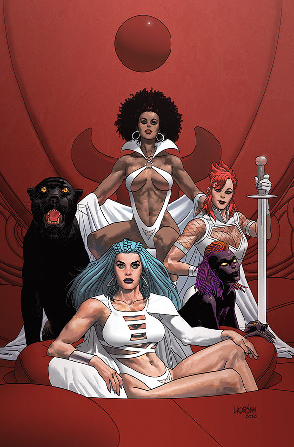 sacredsix - New Christopher Priest and Jae Lee Vampirella Spin-Off Series From Dynamite in May