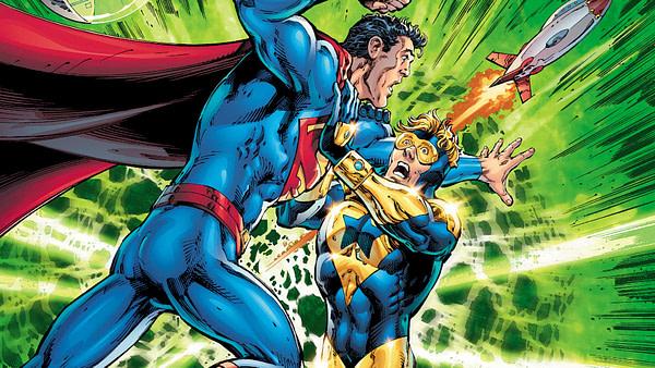 Action Comics #993 cover by Dan Jurgens, Trevor Scott, and Hi-Fi
