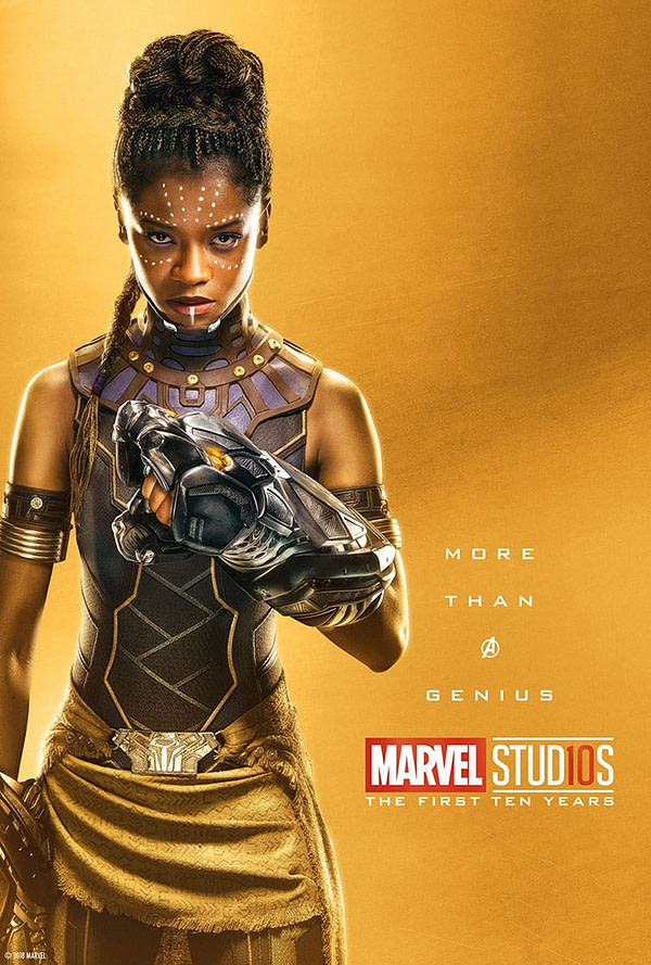 Marvel Studios More Than A Hero Poster Series Shuri