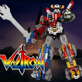 Voltron LEGo Ideas Set
