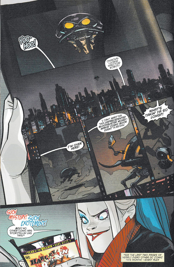 Harley Quinn Knows How Every Year Of The Villain Comic is Going to End This Month (Spoilers)