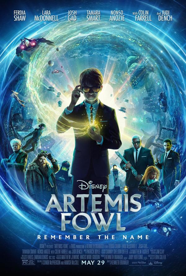 "New ""Artemis Fowl"" Behind-the-Scenes Featurette"