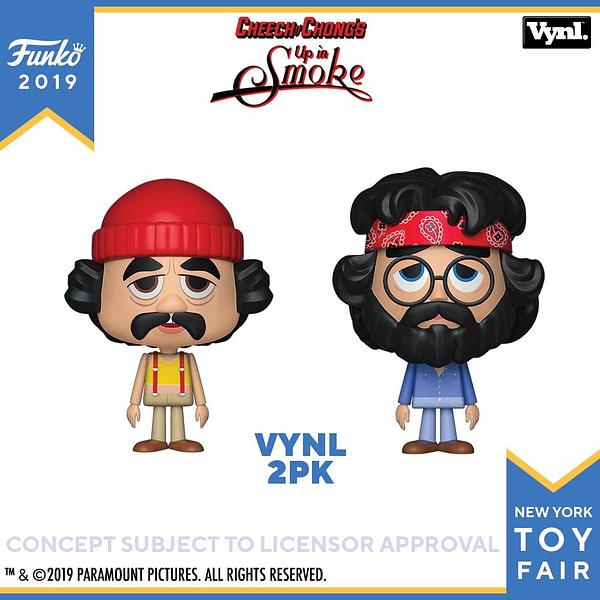 Funko New York Toy Fair Cheech and Chong
