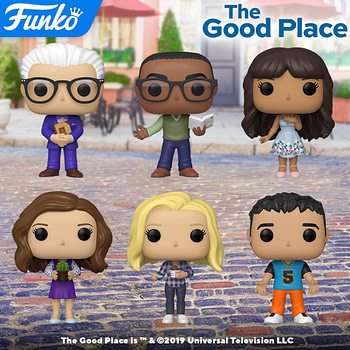 The Good Place Welcomes New Funko Pop Vinyl Figures
