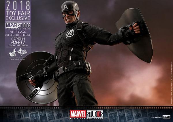 Hot Toys Concept Art Captain America 19