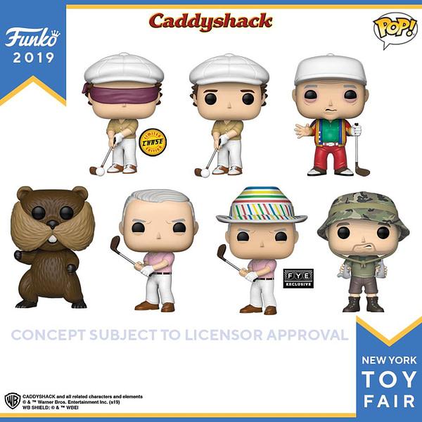 Funko New York Toy Fair Caddyshack 1