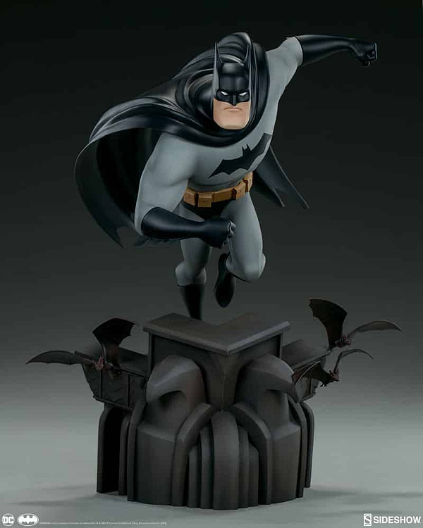 Sideshow Collectibles Batman The Animated Series Batman Statue 5