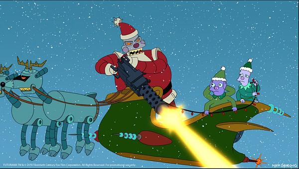 Futurama Santa Claus