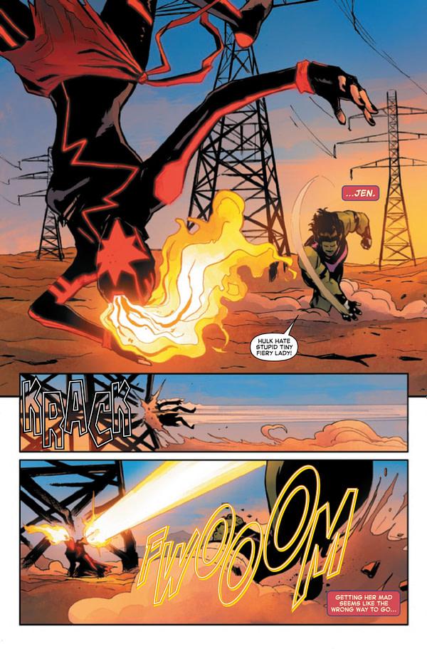 Captain Marvel #15 [Preview]