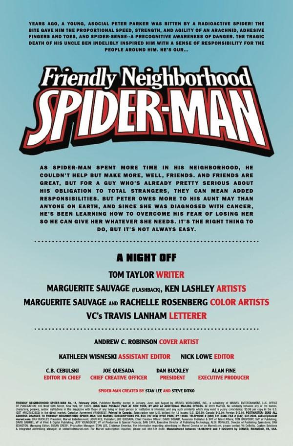 Friendly Neighborhood Spider-MAn #14 [Preview]