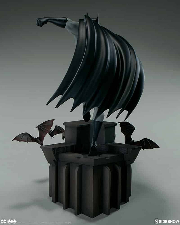 Sideshow Collectibles Batman The Animated Series Batman Statue 3