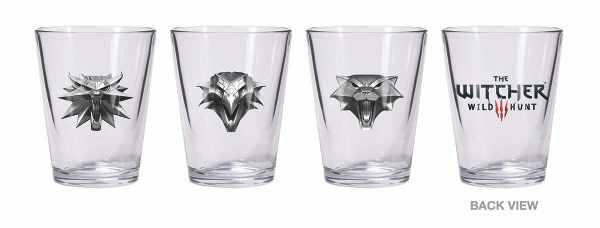 WITCHER SHOT GLASS SET SOL