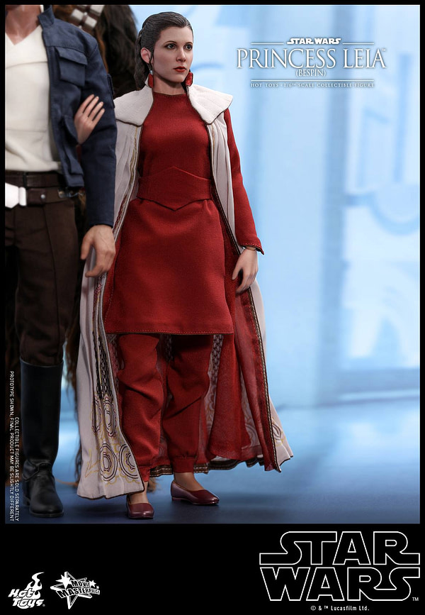 Hot Toys Bespin Gown Princess Leia 16
