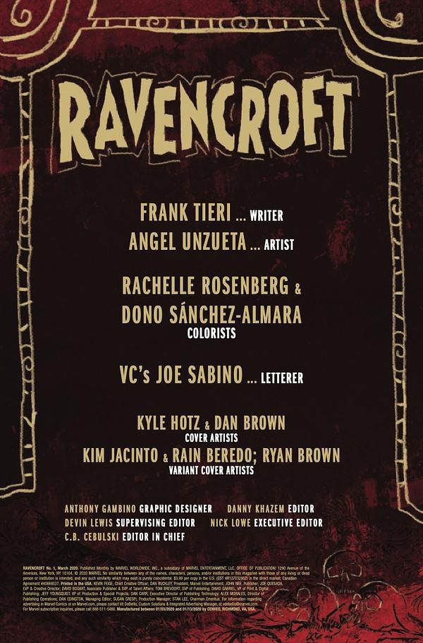 Ravencroft #1 [Preview]