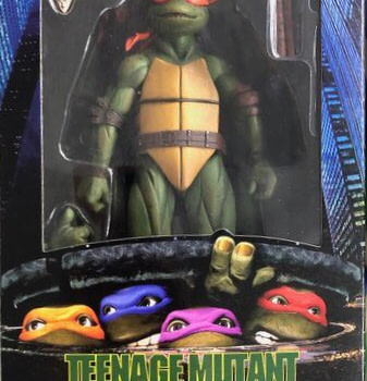 NECA Gamestop Exclusive TMNT 1990 Michelangelo 1