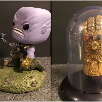 Infinity War Collage Funko