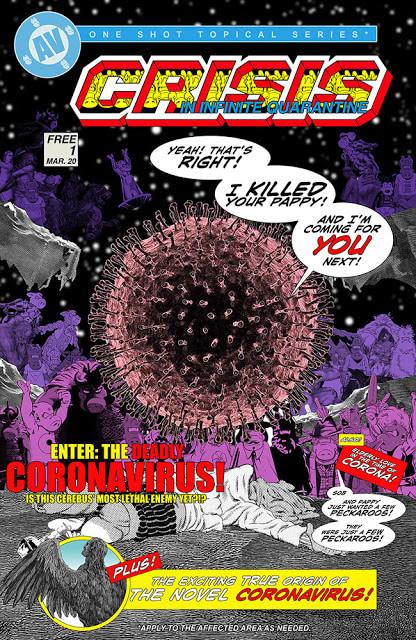 Crisis In Infinite Quarantine Cover