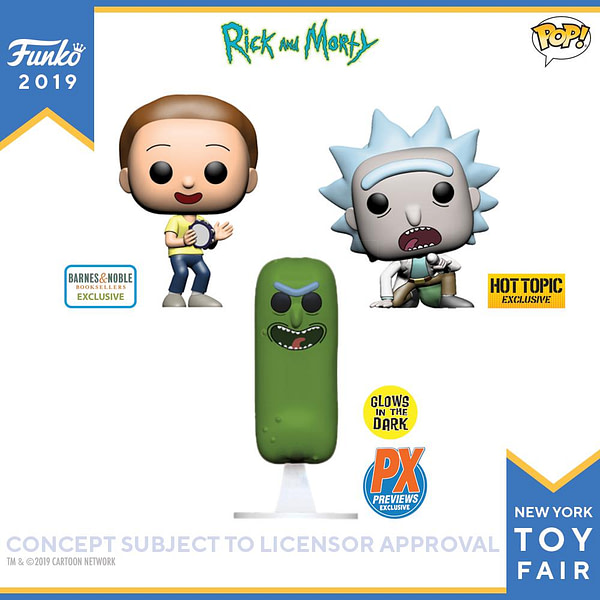 Funko New York Toy Fair Rick and Morty 2