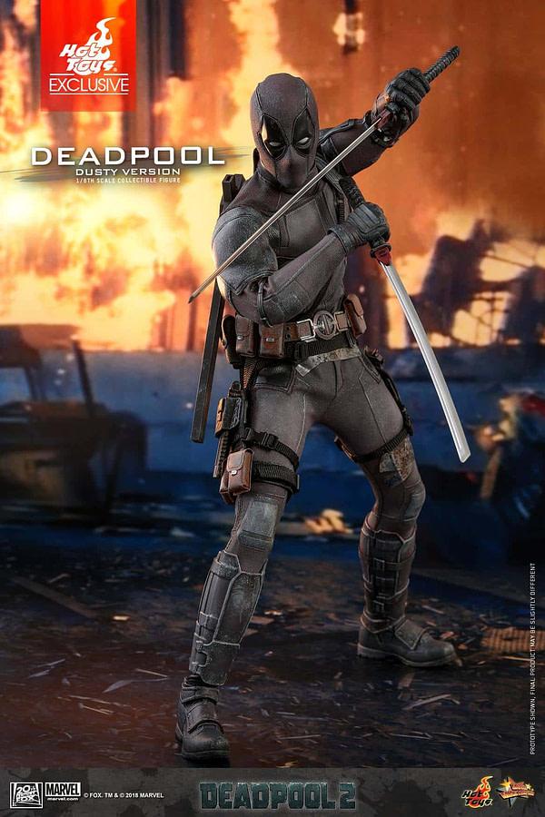 Hot Toys Deadpool Dusty 5