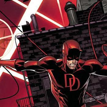 Daredevil #596 cover by Dan Mora and Juan Fernandez