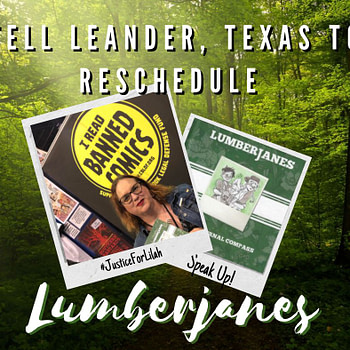 Raina Telgemeier Joins CBLDF Call to Leander, Texas City Council Over Lilah Sturges Lumberjanes Event #JusticeForLilah