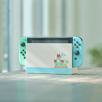 """Nintendo Reveal A new """"Animal Crossing"""" Themed Nintendo Switch"""