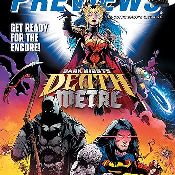 Death Metal and Fire Power on Cover of Next Weeks' Diamond Previews