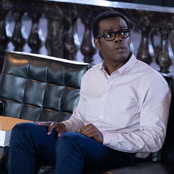 "The Good Place ""Monday's, am I right?"""