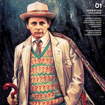 Doctor Who: The Seventh Doctor- Operation Volcano cover by Alex X. Zhang