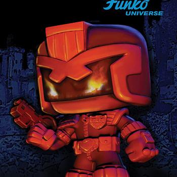 Funko Judge Dredd One Shot IDW
