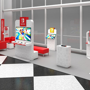 Nintendo Is Launching Airport Switch Gaming Lounges