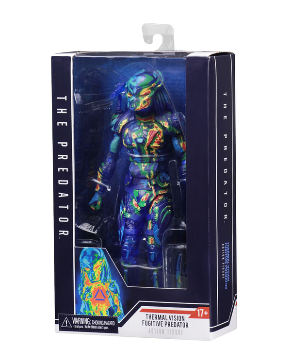 NECA Thermal Predator Figure Target Exclusive 1