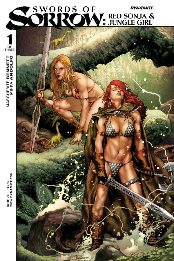Red Sonja Jungle Girl -01-Cov-A-Anacleto