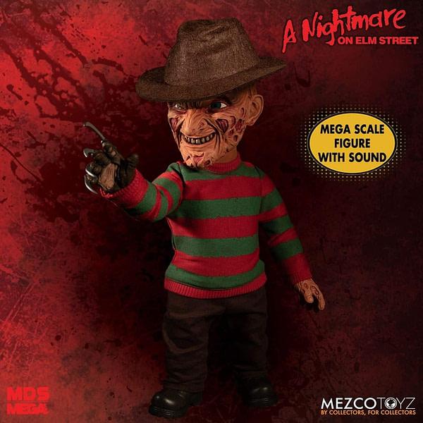 Mezco Freddy Krueger Talking Doll 4