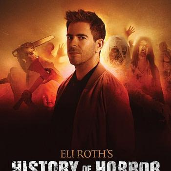 Eli Roth History of Horror Poster
